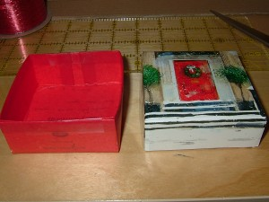Gift Box Base And Lid