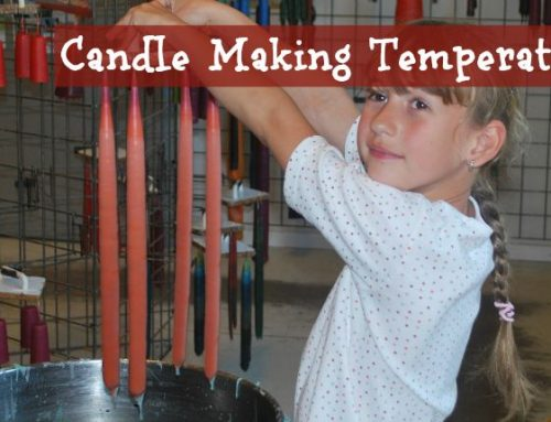 Candle Making Melting & Pouring Temperatures