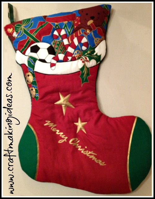 Boys Christmas Stocking