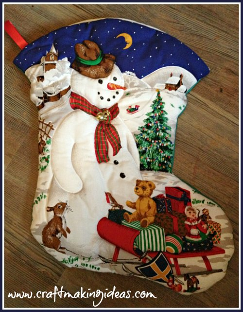 Children's Personalised Christmas Stocking
