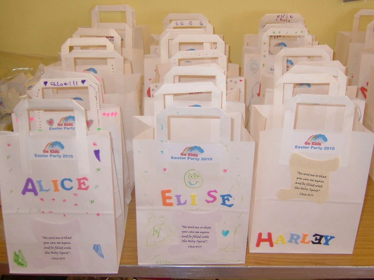 Kids crafts decorate your own craft bag craft making ideas as negle Image collections