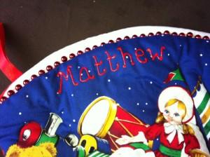 Personalised Christmas Stocking - Matthew