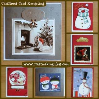 Using Your Old Christmas Cards