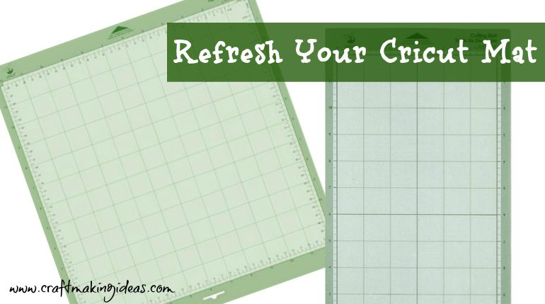 cricut mat refreshing