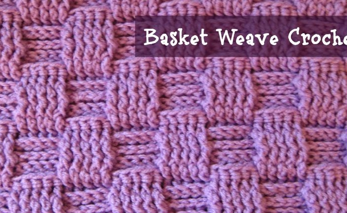 crochet tutorials - basket weave