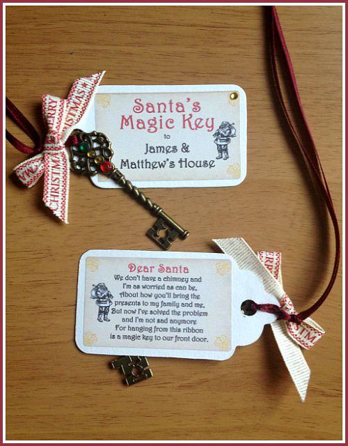 Father Christmas Magic Key
