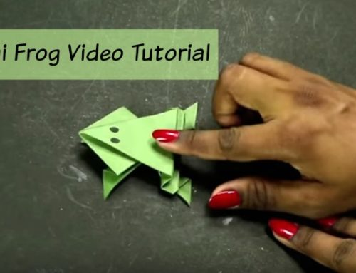 How To Make An Origami Frog