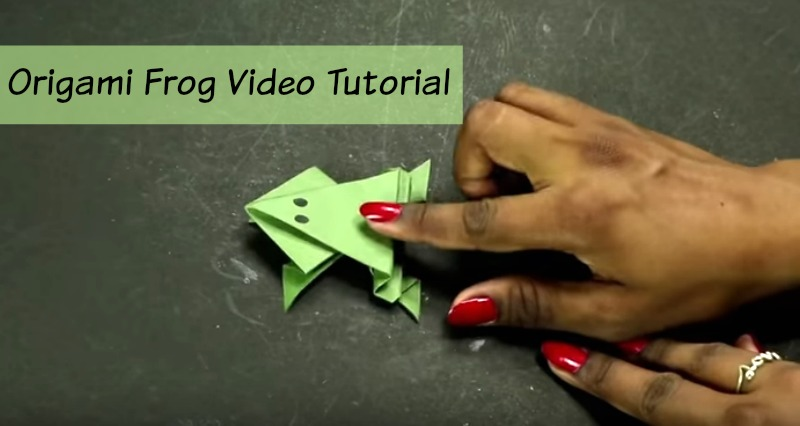 Origami Frog Tutorial