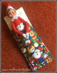 Elf Sleeping Bag Santa & Friends