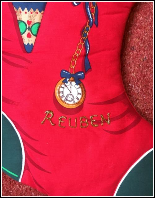 Personalised Medium Toy Christmas Stocking